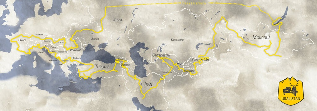 Uralistan : un Roadtrip de 35 000 km en side-car à travers l'Europe et l'Asie centrale